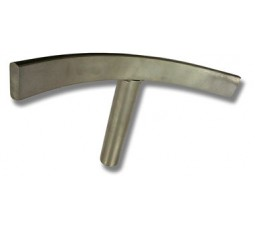 "Part No. 3036 - Curved Toolrest 3/4"" Exterior"